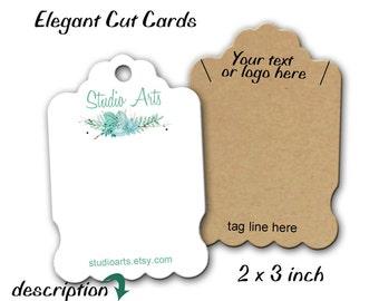 Custom Jewelry Cards, Earring Cards, Jewelry Display, Display Cards, Product Cards, Necklace Display, Display