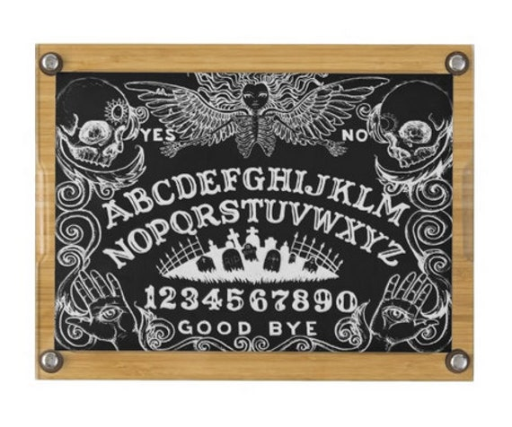 Ouija Board cutting board and cheese tray