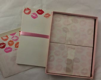Stationary set vintage NOS 1981 American Greetings love letters