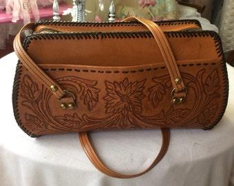 Fabulous  Hand Tooled Handbag
