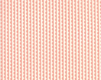 Pink Scallop from Basics Collection by Bonnie and Camille for Moda Fabrics