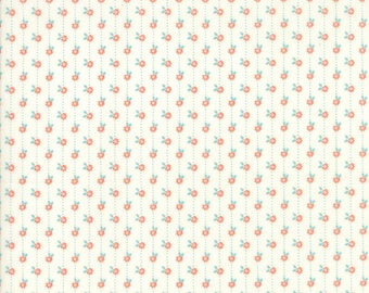 Citrus Cloud Floral Daisy Chain from Sweet Marion Collection by April Rosenthal for Moda Fabrics