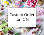 Custom Order for C G