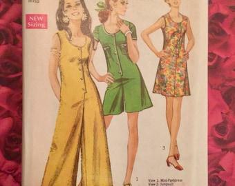 Vintage Mini Pant Dress and Jumpsuit