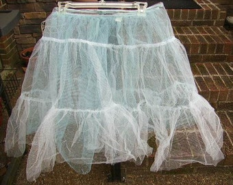 Vintage (2) Tulle Net  Crinoline Petticoat Slips/Child or Adult