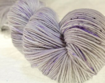 MADE to ORDER Choose Your Weight Hand Dyed Yarn - Gray Area