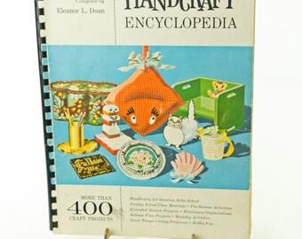 Handicraft Encyclopedia- 1960s Vintage Craft Book
