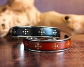 Leather Cuff Studded Leather Bracelet MensBangle Mens Leather Jewelry Leather Gift For Man Gift For Him Gift Under 50 Handsome Sexy  Dad