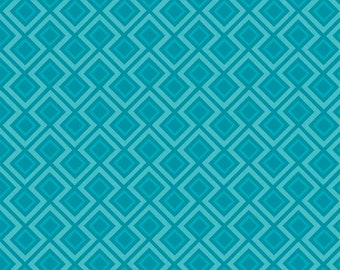 Fantine by Riley Blake ~ Geometric in Blue - Cotton Designer Fabric