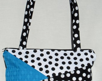 Over the Shoulder Polka Dot Purse