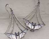 Tiny Flying Bats by Carrie Nunes Jewelry