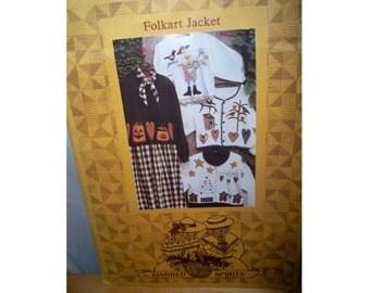 Kindred Spirits Folk Art Jacket Pattern