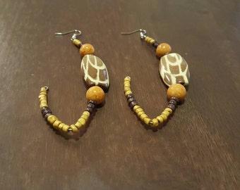 Beaded Hook Earring