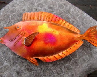 Refrigerator Magnets - Copper Art – Unicorn Fish - Kala– Fridge magnet