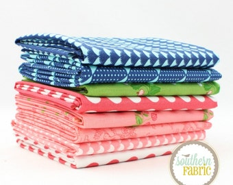 "Gooseberry - Fat Quarter  Bundle - 8 - 18""x21"" Cuts - by Lella Boutique for Moda"