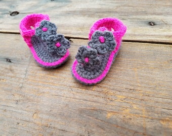 Custom Made,Baby Sandals,Crochet Sandals,Baby Shoes,Baby Booties,Photo Prop,Bow,Bow Sandals,Crochet baby Sandals,Baby Shower,Baby Gift,shoes