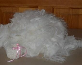 Angora Rabbit Fiber - 1/2 pound bulk fiber