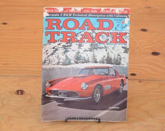 Vintage Road & Track, Classic Collector Car Magazines