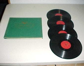 Alfred E Smith Memorial Album Majestic Records 78 RPM Political Collectible