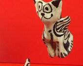Angel Cat #7  flying ornament  & gift box