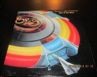 ELO vinyl - Out of the Blue vinyl - Original Double Album Set - Lp in VG++ Condition.