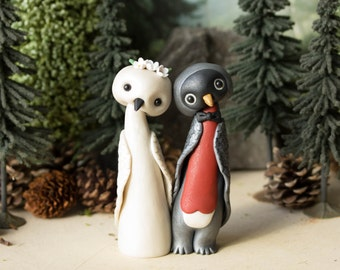 Robin Wedding Cake Topper - Bird Wedding by Bonjour Poupette