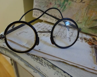 Fun Vintage Round Spectacles Eyeglasses