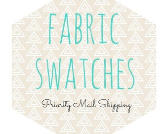 Priority Mail shipping charges for swatches