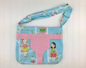 Doll carry bag, toddler bag, messenger bag, child carry bag, doll bag, gifts for girls, kids toys, toys for children, birthday gift ideas
