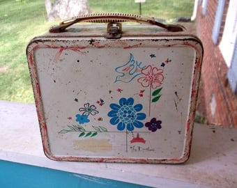 Vintage Rusty Crusty the Duchess Metal Lunchbox from Aladdin Industries Nashville, TN 1970's Lunch Box only No Thermos