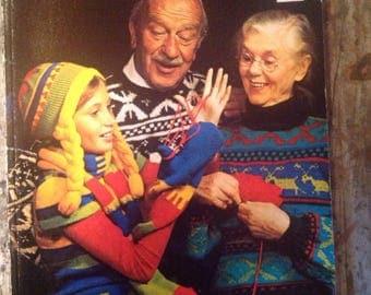 Vintage Everybody's Knitting Book Kirsten Hofstatter