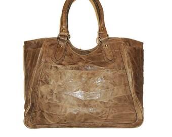 Leather Tote, Leather Tote Bag, Large Leather Tote, Brown Leather Tote, Leather Handbag, Leather Bag, Laptop Bag, Julia xl - Vintage Brown