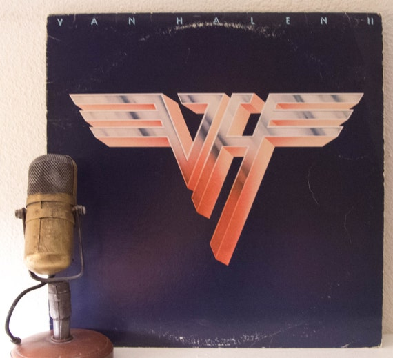 """ON SALE Van Halen """"II"""" (Original 1979 Wb Records with photo inner sleeve and """"Dance the Night Away"""" & """"Somebody Get Me A Doctor"""")"""