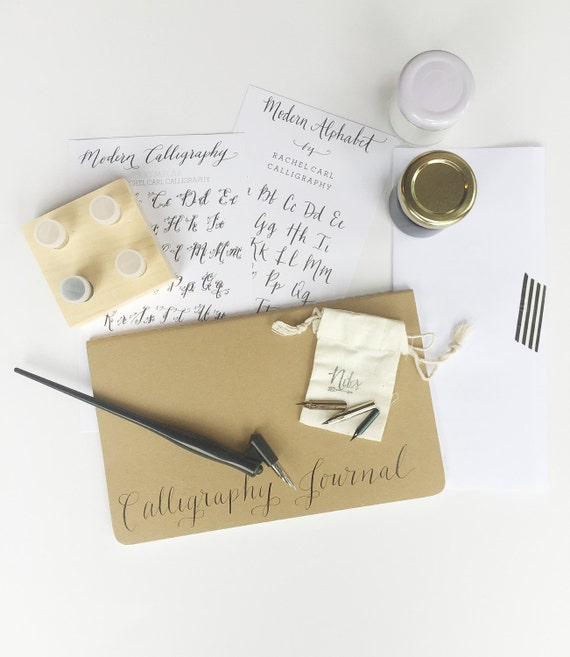 Calligraphy starter kit with gift box on sale free name