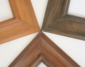 Sizes 8x10 to 12x12 Picture Frame / Knotty Alder Wood / Palermo Style