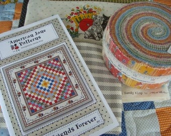 Best Friends Forever - Quilt Kit with Spring A Ling fabric from Moda