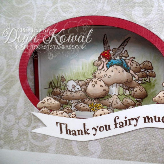 handmade greeting cards - Thank You Fairy Much