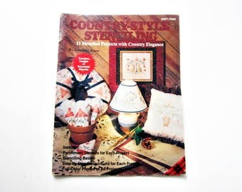 Cut Out Reusable  Stencils - Book of Projects for Home Decor