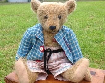 Hampton Bears,Nelson, antique style Artist Bear