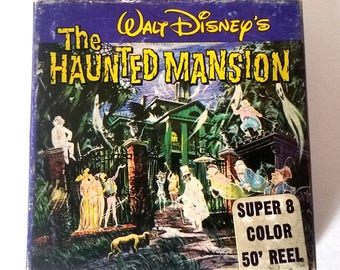 Disney's Haunted Mansion 8mm Rare Find Vintage