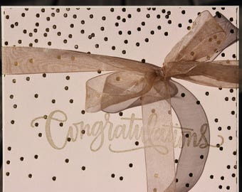 Bridal Congrats Bridal Card, Couples Bridal Shower Card, Wedding Shower Card, Happily Ever After Card