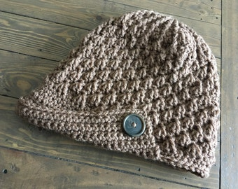 Dusty Puff Peaked Hat