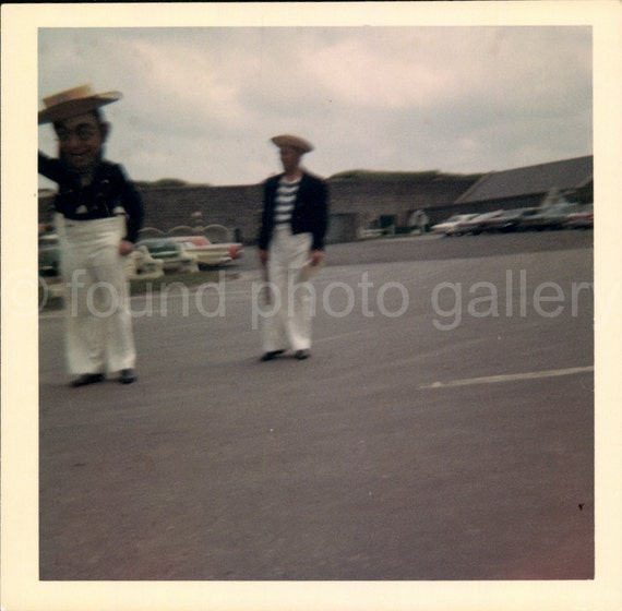 Vintage Photo, Color Photo, Gondolier's Parade, Travel Photo, Vacation photo, Snapshot, Found Photo, Vernacular Photo, Mascot *AUGUSTINEO642