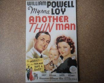 Magnet- Another Thin Man movie  William Powell Myrna Loy  Nick and Nora Charles baby