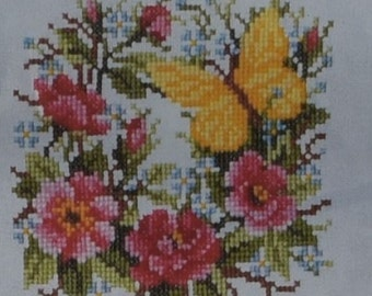 Verachert Kit 5503 with Fabric Threads and Square Frame