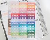 Social Media Daily Tracker Planner Stickers, Hand Drawn perfect for Erin Condren, Filofax, Kikki K, Happy Planner, Inkwell Press