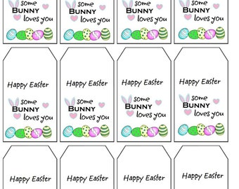 Crochet Gift Tags, Labels PDF Crochet Knit Gifts Easter Gift Tags