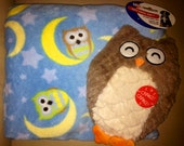 WHOOO Needs Soothing Dog Pillow and Owl Toy