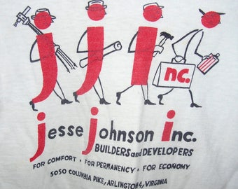 Vintage Child T-Shirt Builders and Developers Ad