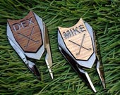 Personalized Golf Ball Marker & Divot Tool - Groom Groomsmen Gift, Best Man Gift for Men, Father's Day Dad Gift, Golf Gift,golf gift for man
